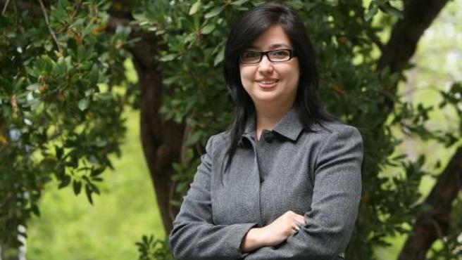 La investigadora Dena María Camarena Gómez.