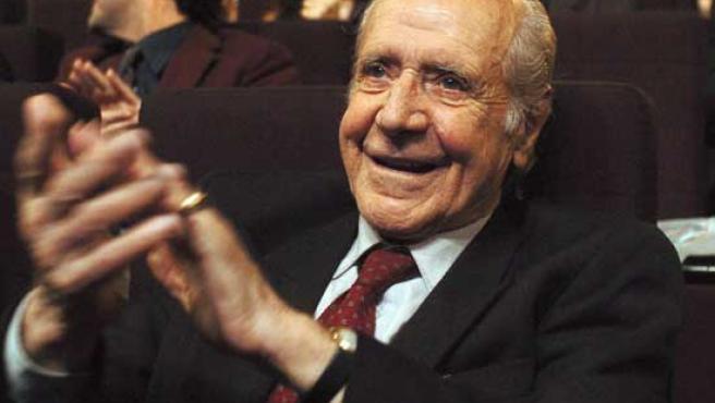 Manuel Alexandre, durante una ceremonia de los Goya.