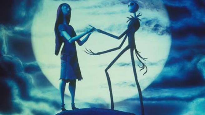 Fotograma de la película 'Pesadilla antes de Navidad' que Tim Burton reestrenará este Halloween