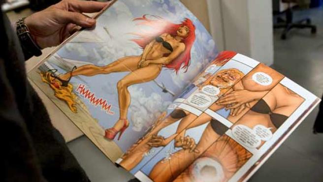 El cómic Chiqui ¡Bang! ¡Bang! donde la protagonista es la 'stripper' catalana Chiquí Martí