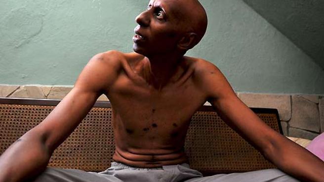 Guillermo Fariñas, en huelga de hambre.