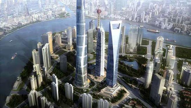 Shanghai, una de las ciudades más prósperas de China.
