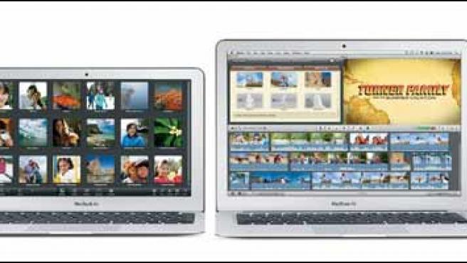 Dos modelos de 11 y 13 pulgadas de la nueva generación de portátiles MacBook Air.