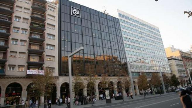 Sede de la Caja de Ahorros de la Inmaculada (CAI) en Zaragoza
