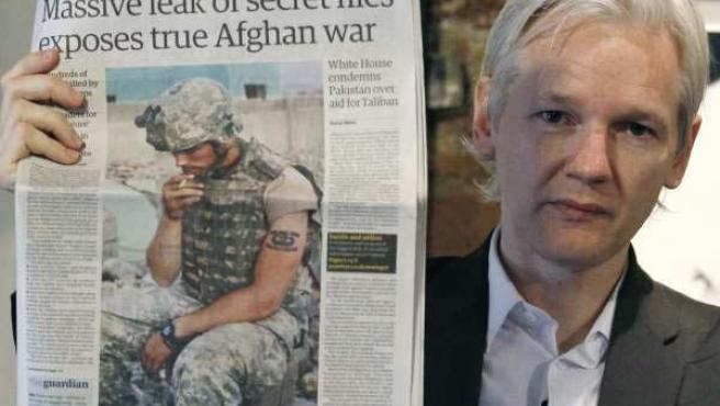 Julian Assange, fundador de la web Wikileaks