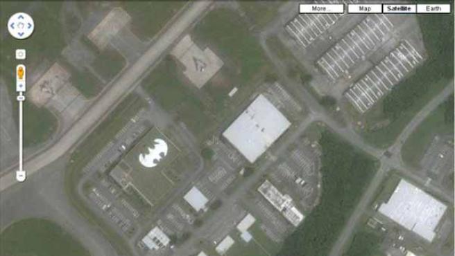 'Batman', en una base aérea de EE UU en Japón.