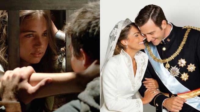 Telecinco quiere combatir a 'Hispania' con 'Letizia y Felipe'.