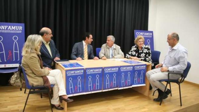 Reunión del PP con Confamur