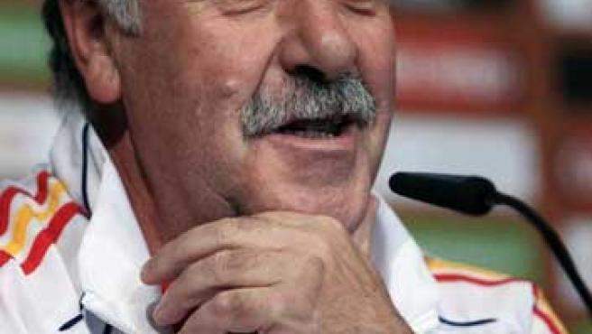 El seleccionador nacional español, Vicente del Bosque.