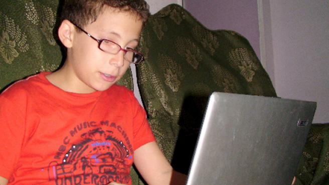 Wael, técnico de Microsoft con 11 años.