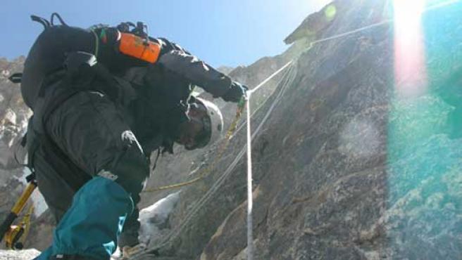 El Everest, con Internet de alta velocidad.