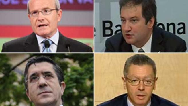 Los políticos más ganan son los presidentes de Cataluña y País Vasco, José Montilla y Patxi López, junto a los alcaldes de Barcelona y Madrid, Jordi Hereu y Alberto Ruiz-Gallardón.