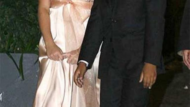 Isabella (izda) y Connor, los hijos adoptivos de Tom Cruise y Nicole Kidman.