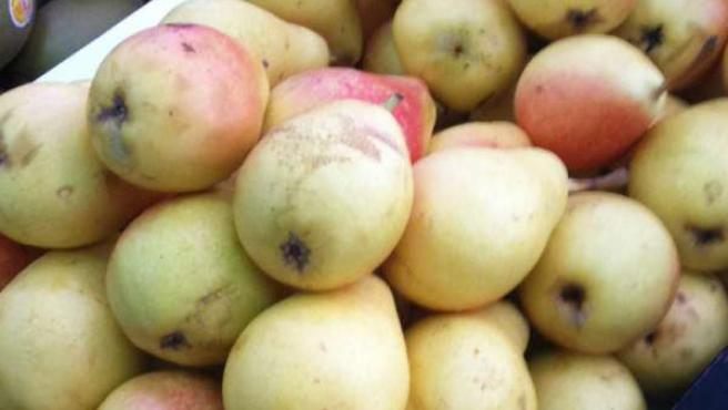 El precio de las peras bajó el 3,81% en el mes de octubre.