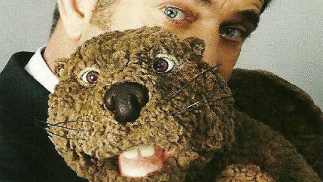 El mejor amigo de Mel Gibson es un castor de peluche