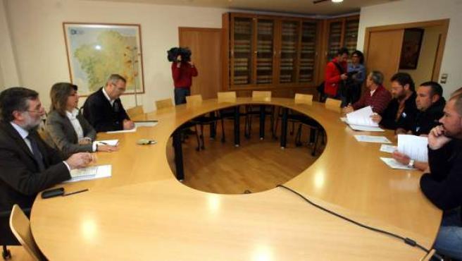 - A conselleira do Mar, Rosa Quintana, recibirá a membros da confraría da Coruña