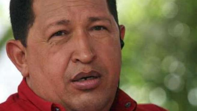 """Hugo Chávez acusó al Gobierno de """"cobardía política"""" al relacionar a su país con ETA."""
