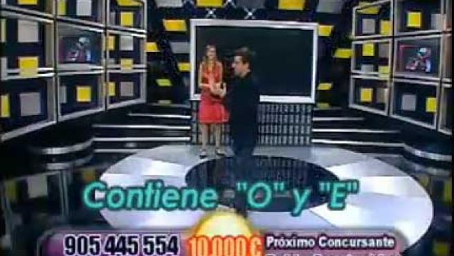 El call tv 'Noche de suerte', de Telecinco.