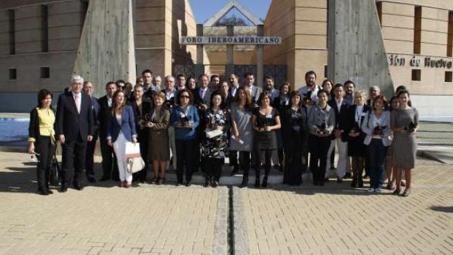Imagen de los galardonados con el Premio Progreso.