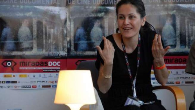 La documentalista Sahraa Karimi (Afganistán) participa en MiradasDoc en Tenerife