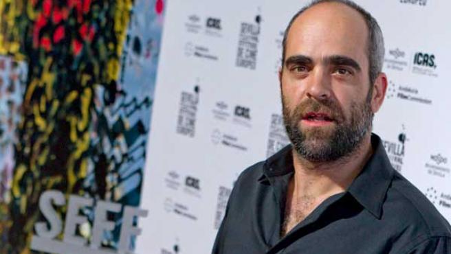 El actor gallego Luis Tosar, durante el Sevilla Festival de Cine Europeo.