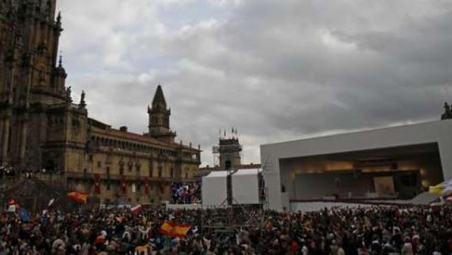 Visita del Papa a Santiago