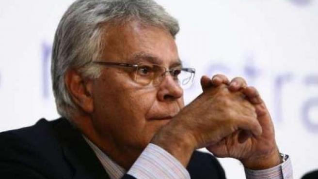 El ex presidente del Gobierno Felipe González.
