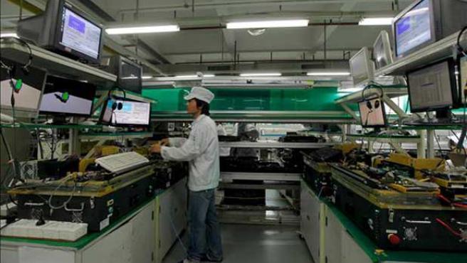 La taiwanesa Foxconn ha subido varias veces los sueldos de sus empleados.
