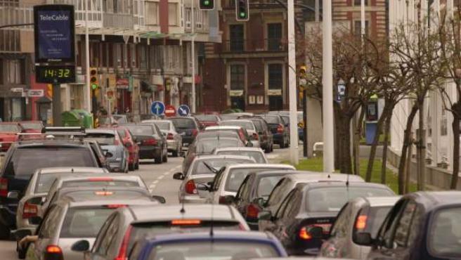 El tráfico rodado es la principal fuente de contaminación.