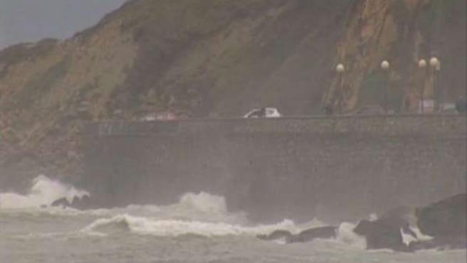 El temporal azota la Península Ibérica