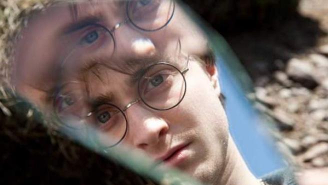 Daniel Radcliffe, en 'Harry Potter'.