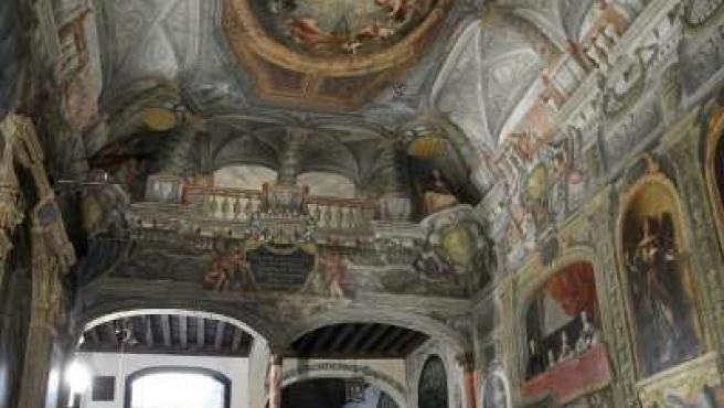 Pinturas murales de la escalera principal del monasterio de las Descalzas Reales.