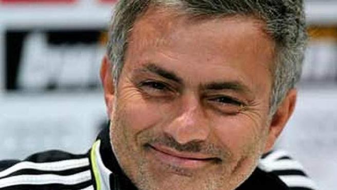 José Mourinho, en una rueda de prensa
