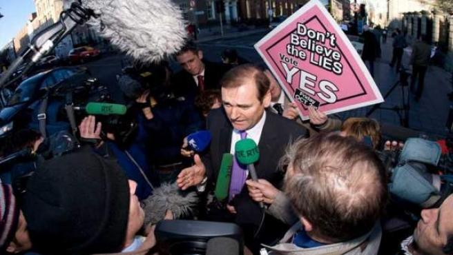 El parlamentario del partido Fianna Fail, Tom Kitt.