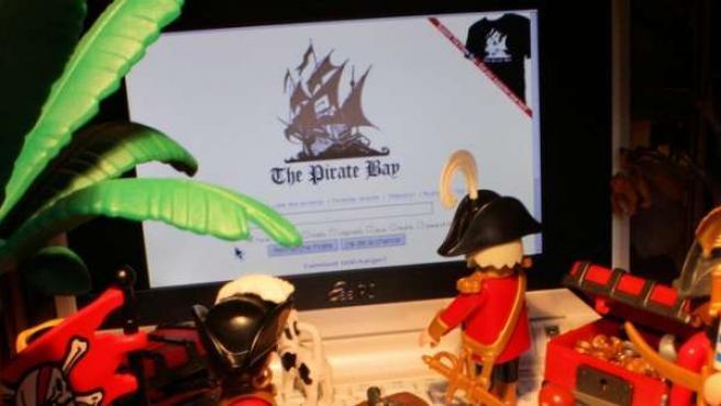 Portal de enlaces P2P The Pirate Bay.