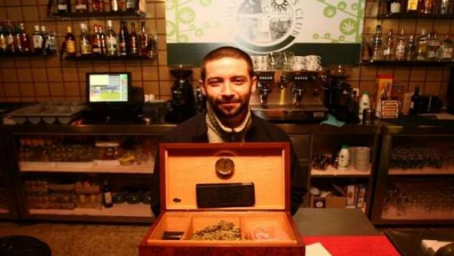 El Private Cannabis Club, el primer bar para fumar marihuana de forma legal en Madrid.
