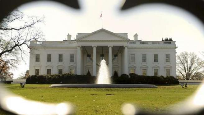 Vista general del ala norte de la Casa Blanca.