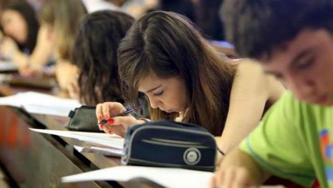 Alumnos de la Universitat de Barcelona.
