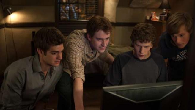 Fotograma de la película La red social.