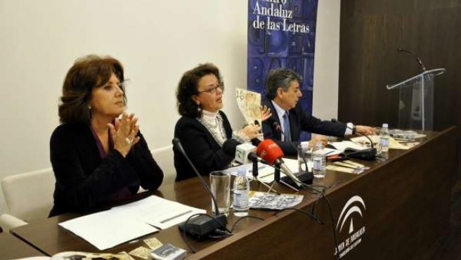 Presentación de la programación del Día de la Lectura en Andalucía