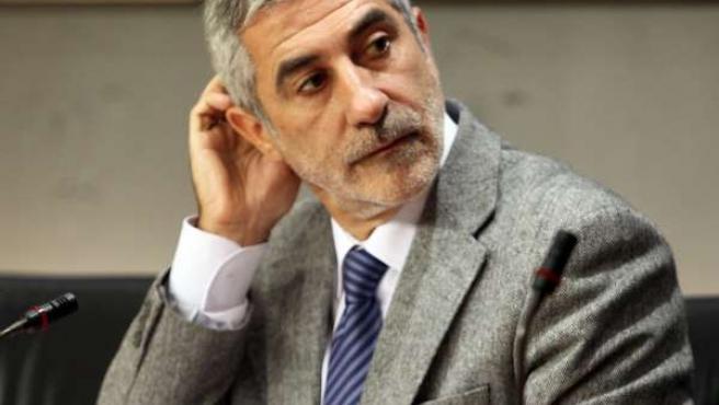 Gaspar Llamazares, diputado de IU en el Congreso