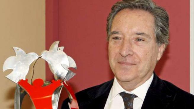 Iñaki Gabilondo agradece el premio a la Libertad de Expresión 2010.