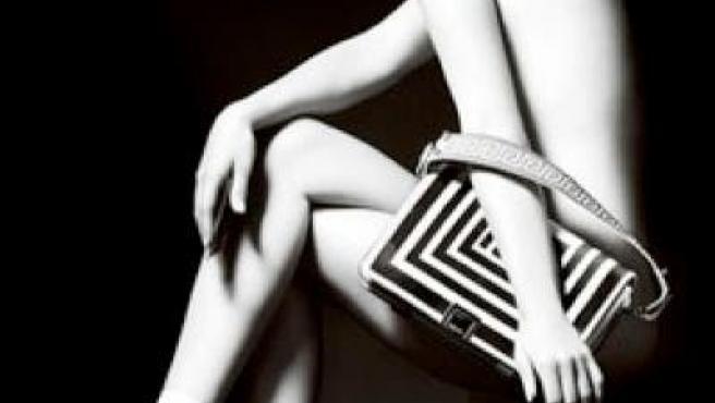 January Jones desnuda para Versace
