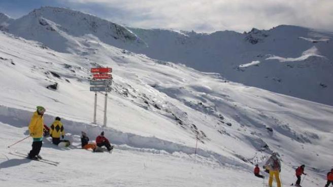 Recursos de nieve en Sierra Nevada