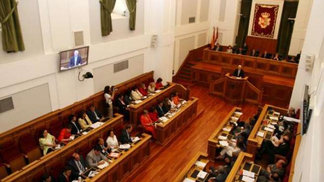 Pleno de las Cortes de Castilla La Mancha