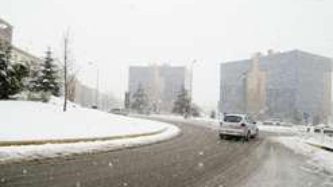 Nieve en Navarra.