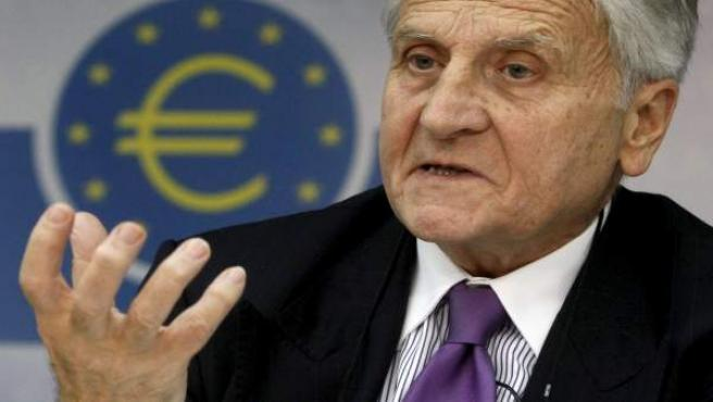 El presidente del Banco Central Europeo, Jean Claude Trichet.