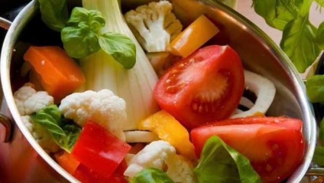 Verduras y hortalizas nos procuran mucho colesterol bueno.
