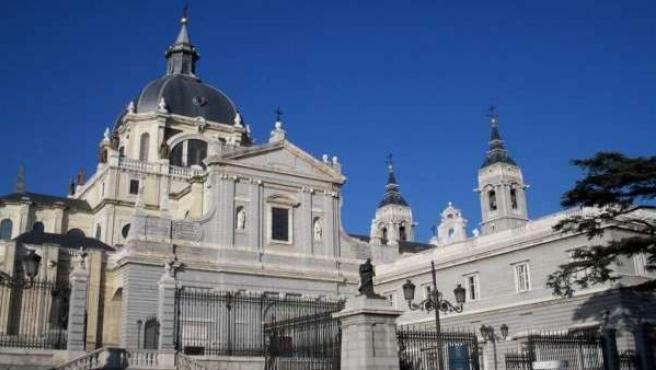 La Catedral de la Almudena.