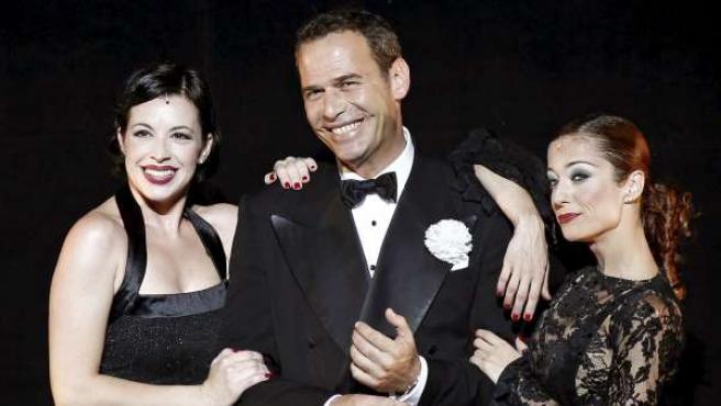 Carlos Lozano, en la presentación del musical 'Chicago'.